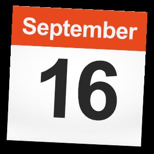 September 16th