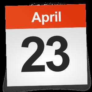 April 23rd